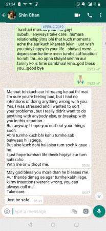 BREAKING: Sidharth Sagar Shares WhatsApp Screenshots Of Subuhi