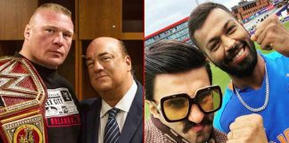 Brock Lesnar's Advocate Paul Heyman Gets Into Banter With Ranveer Singh!