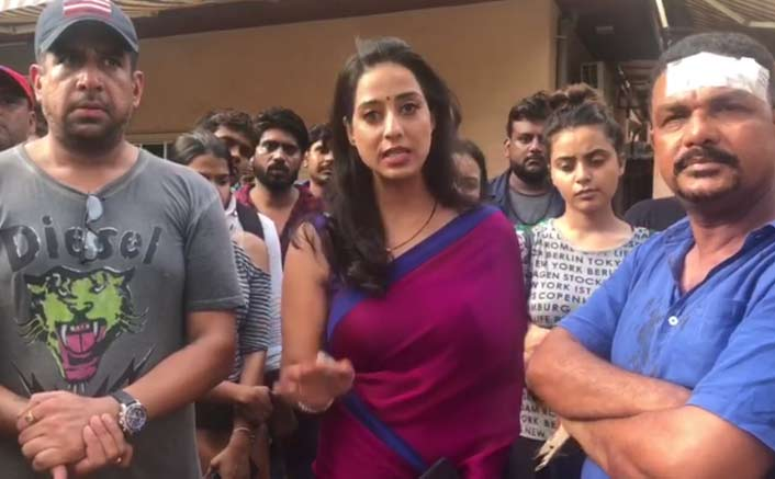 Cast, crew of web series claim being attacked during shoot