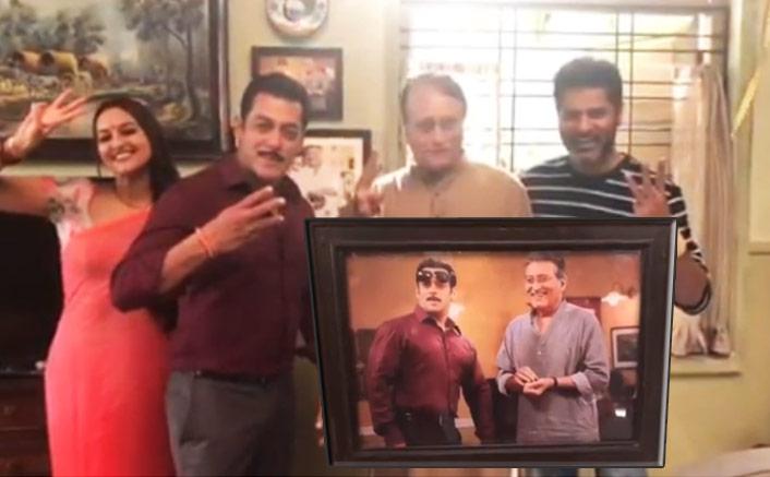 Dabangg 3: Salman Khan, Sonakshi Sinha & Prabhudeva Introduces A New Member Of Their Family!