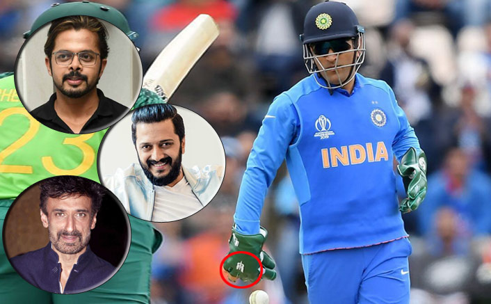 #DhoniKeepTheGlove: Celebs Root For M.S. Dhoni After ICC Orders Removal Of Insignia From Gloves