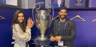 Farhan, Shibani in Madrid to watch UEFA finale