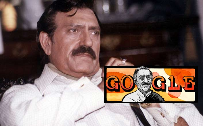 Google Doodle pays tribute to Amrish Puri
