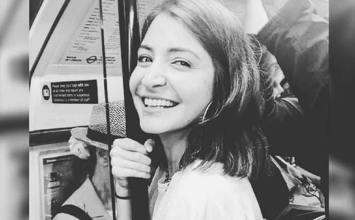 'Happy' Anushka Sharma takes tube ride in London