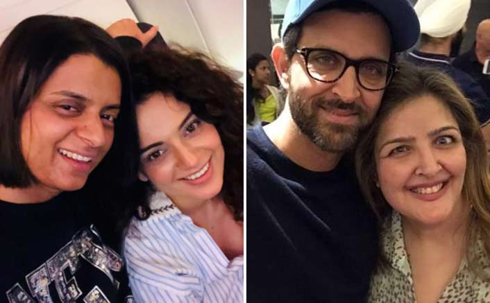 "Hrithik Roshan's SIster Sunaina Makes A BIG Statement, ""I Support Kangana All Through"""