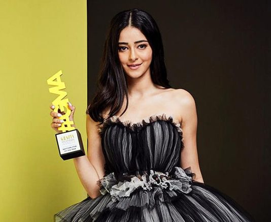 """""""I'm Happy that I represent the entire generation,"""" says the Best Student Ananya Panday on winning 'Next Gen star of the year' at Grazia Millennial Awards"""