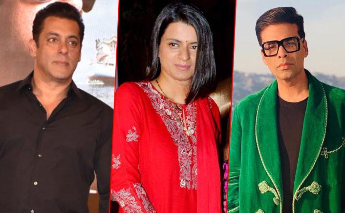"""Kangana Ranaut's Sister Rangoli Yet Again SLAMS Karan Johar; This Time For Salman Khan's """"Chaploosi"""""""