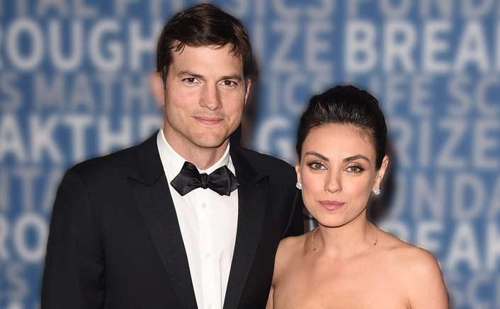 Kutcher, Kunis mock tabloid reporting their split