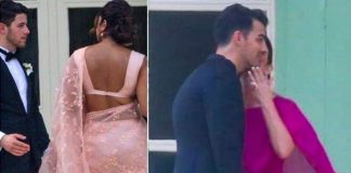 LEAKED PICTURES: Joe Jonas & Sophie Turner Exchanging Wedding Vows, Priyanka Chopra In Sari & More!