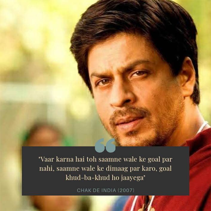 #MondayMotivation: This Shah Rukh Khan Dialogue From Chak De India Says It All!