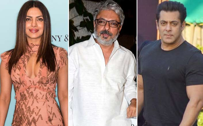 Not Alia Bhatt, But Priyanka Chopra Was Planned For Salman Khan - Sanjay Leela Bhansali's Inshallah?