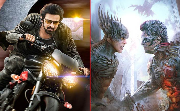 Prabhas' Saaho VS Akshay Kumar-Rajinikanth's 2.0 Teaser Battle - The Better Visual Spectacle?