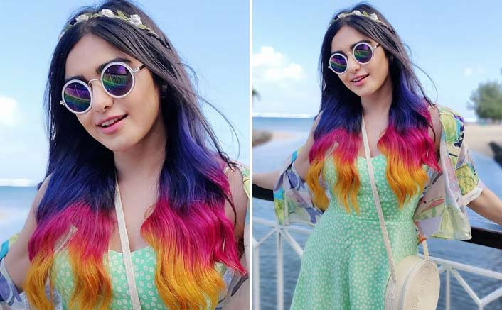 Whoa! Adah Sharma Gives Her Hair A Triple-Coloured Twist For Upcoming Web Series 'The Holiday'