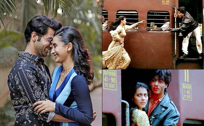 Rajkummar, Patralekhaa recreate iconic 'DDLJ' scene