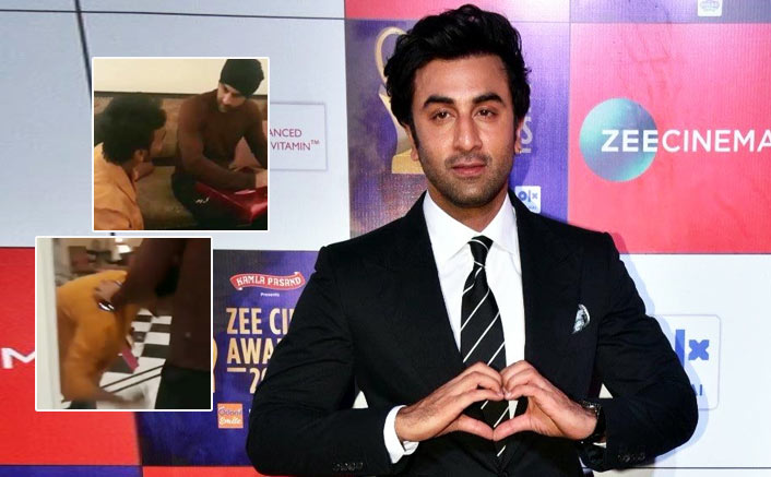 VIDEO: Ranbir Kapoor Gets Brutally Trolled By Netizens After His Fan Touches His Feet