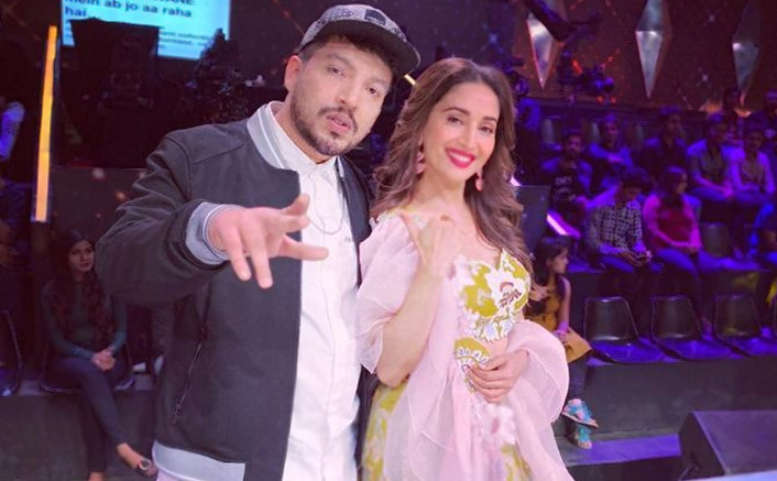 Rapper Naezy shoots for 'Dance Deewane 2'
