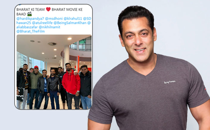 Salman Khan Is Elated As Indian Cricket Team Watches 'Bharat' In England!