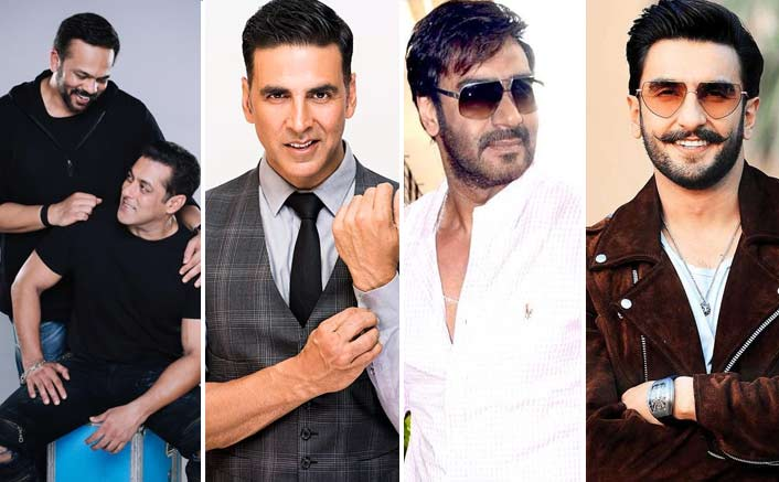 Salman Khan To Be A Part Of Akshay Kumar, Ranveer Singh & Ajay Devgn In Rohit Shetty's Cop Universe?