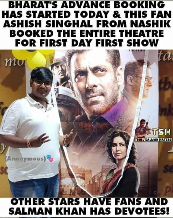 Bharat: A Salman Khan Fan Did THIS Crazy Thing For His Idol!