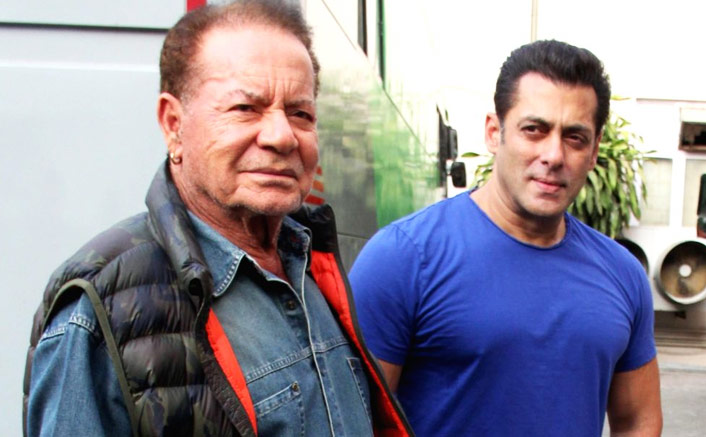 Salman, Salim Khan croon 'Suhani Raat Dhal...'