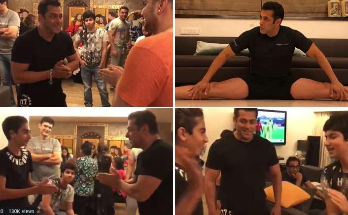 Salman starts sharing personal life on social media