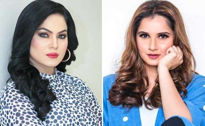 Sania Mirza Gets Into An Ugly Twitter Banter With Veena Malik After Her Parenting Skills Being Questioned!