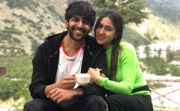 Sara Ali Khan And Kartik Aryan's Take A Chill With Chai At Himachal Pradesh