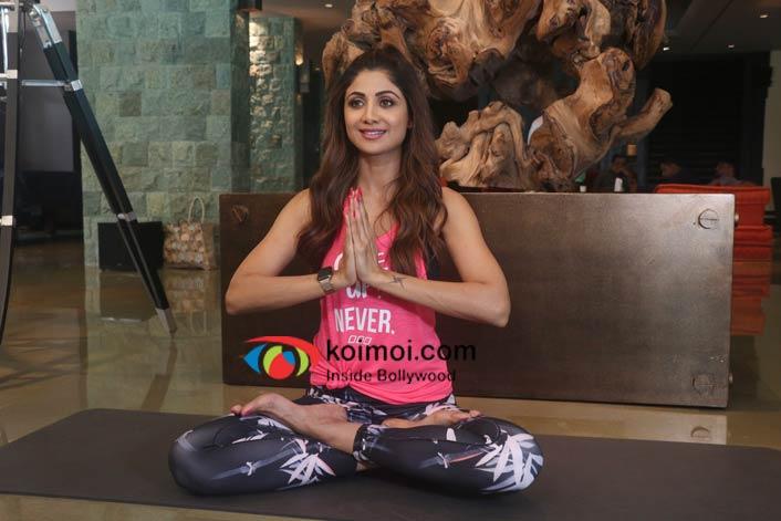 Shilpa Shetty's Yoga moves
