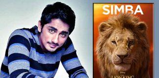 Siddharth enjoys working on 'The Lion King' as Simba