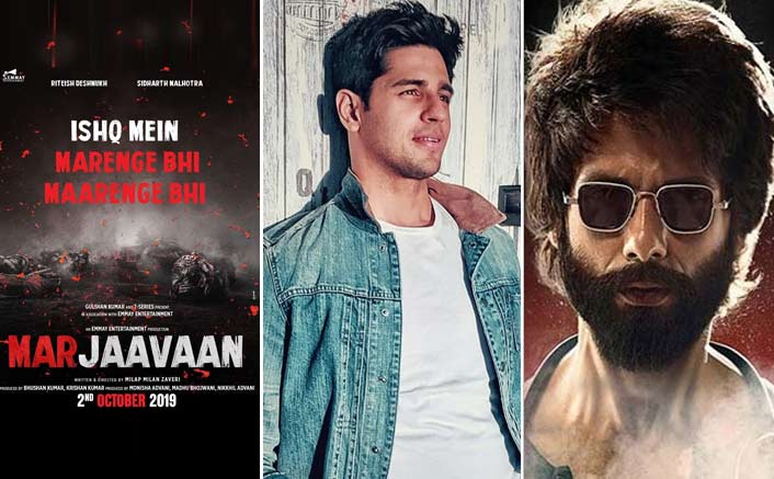 Sidharth Malhotra to bring his own style with Marjaavaan, the next violent love story of 2019 after Kabir Singh