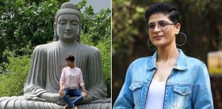 Tahira Kashyap apologises for sitting on Buddha statue
