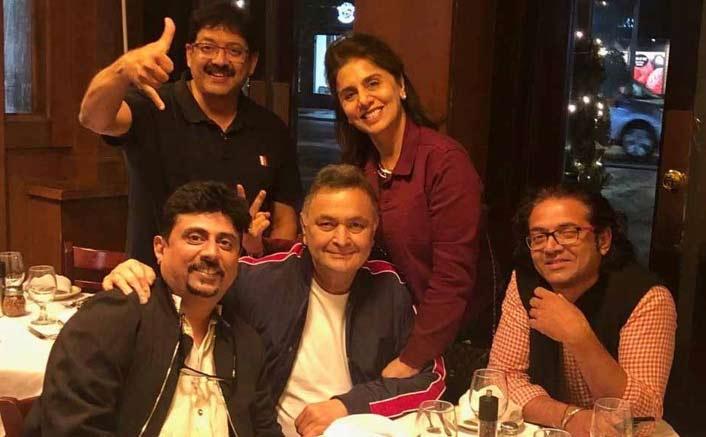 Umesh Shukla meets Rishi, Neetu in New York