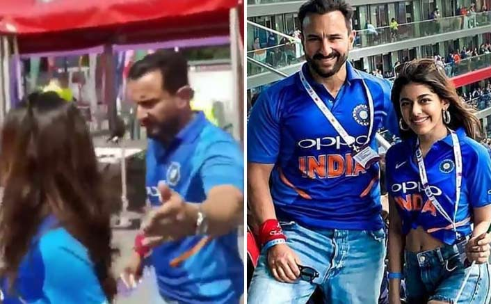 VIDEO: Pakistani Fan Insults Saif Ali Khan During Ind Vs Pak Match, Actor's Reaction Shows His Class