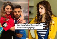 VIRAL: Urvashi Rautela Wraps Arms Around Virat Kohli & Netizens Call Out For Anushka Sharma!