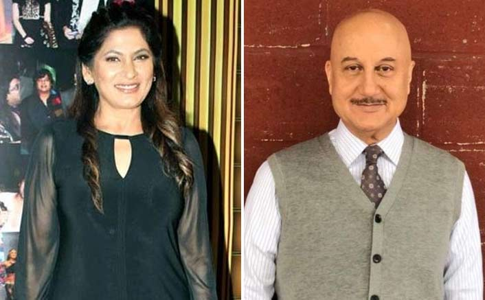 When Archana was nervous to kiss Anupam Kher in 'Ladaai'