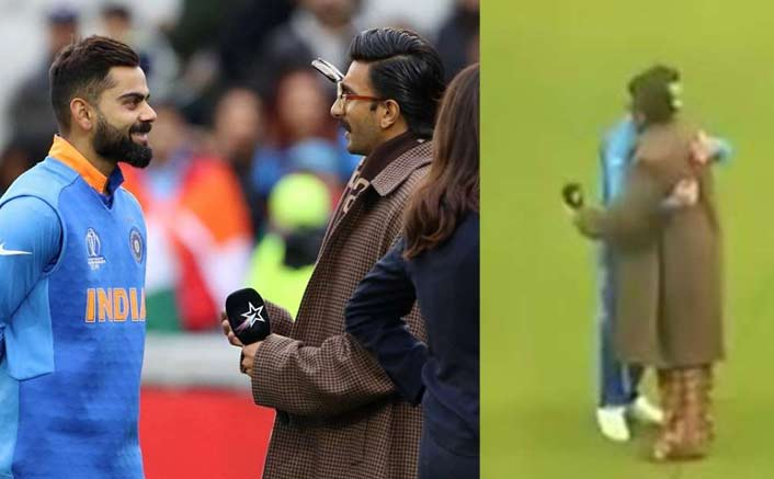 World Cup 2019: Ranveer Singh's Hugging Virat Kohli Post Winning Against Pakistan Is Winning The Internet!