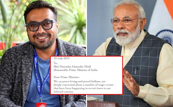 49 Bollywood Celebs Including Anurag Kashyap Write Letter To PM Narendra Modi To Act Against Mob Lynching