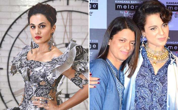 "Taapsee Pannu On Rangoli's Remark: ""Kangana Claims To Be The Highest-Paid, So I Guess I Am The 'Sasti' Version"""