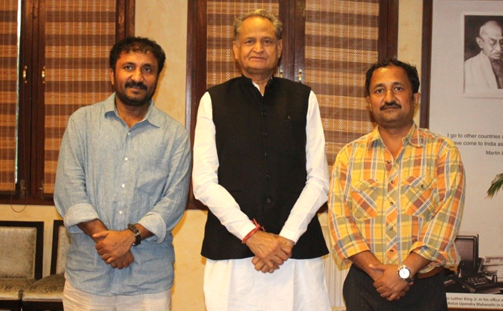 After making Super 30 tax-free in Rajasthan, Anand Kumar meets expressing his gratitude to Chief Minister Ashok Gehlot