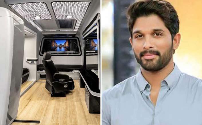 Allu Arjun shares photos of newly upgraded vanity van