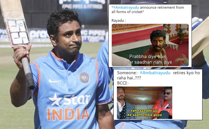 Ambati Rayudu Retires: It's Sad But Netizens Have Hilarious Memes For This Too!