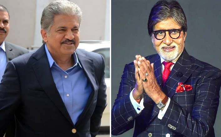 Anand Mahindra Apologizes Amitabh Bachchan For Addressing Him As The 'Other' Big B