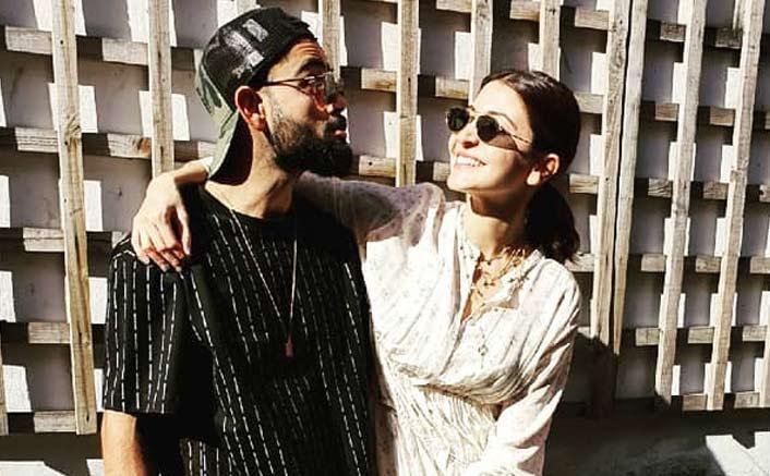 Anushka, Virat 'seal the silly moments'