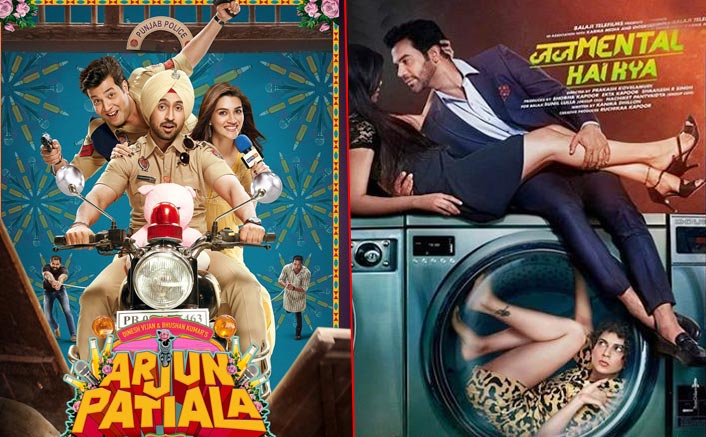 Box Office Collections: Judgementall Hai Kya Drops & Arjun Patiala's Monday Updates