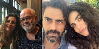 Arjun Rampal's Girlfriend Gabriella Demetriades Parents Arrive To Mumbai Ahead Of Her Delivery