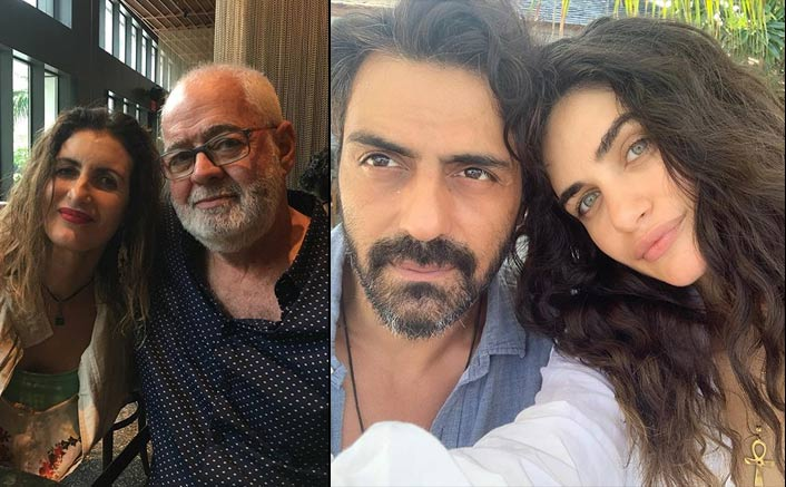 Arjun Rampal's Girlfriend Gabriella Demetriades' Parents Are In Mumbai Ahead Of Her Delivery