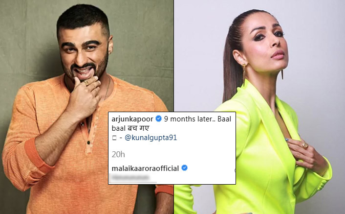 Arjun Kapoor Has No Worries Of Panipat's Secret Look Anymore, Here's How Malaika Arora Reacted