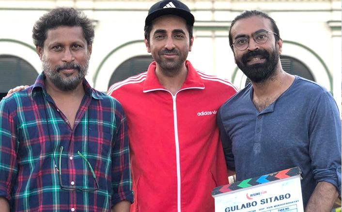Ayushmann wraps up shooting for 'Gulabo Sitabo'