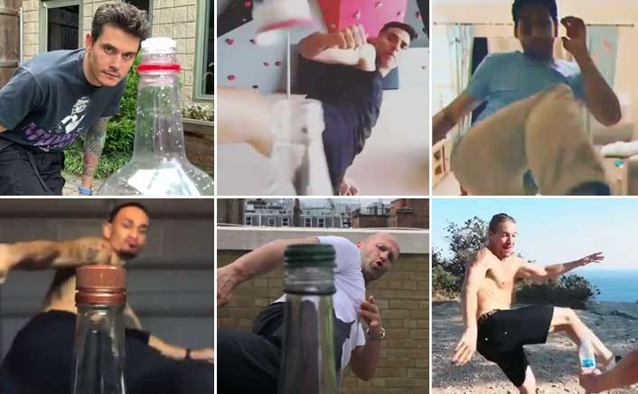 BEST Of Bottle Cap Challenge: Jason Statham Inspires Akshay Kumar; Siddhanth Chaturvedi Challenges Ishaan Khatter