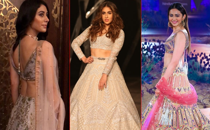 From Sara Ali Khan To Rakul Preet Singh, Bollywood Divas STUN At The India Couture Week 2019